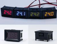 Wholesale Adjustable Dc Voltage - 10pcs high quality adjustable resistor DC 2.4V~30V LED display 0.36inch Voltmeter Dual Digital Volt monitor Meter Gauge voltage detector
