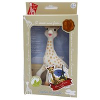 Wholesale Teether Vulli Sophie The Giraffe La Baby Teether Natural Rubber Pacifier Squeaker Toy Scented French Sophie Deer Baby Teeth To Bite Molar R