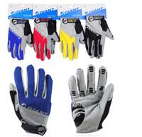 guantes de carretera al por mayor-Marca Giant Winter Warm Full Finger Cycling Gloves Accesorio deportivo carretera Bicicleta de montaña de silicona antideslizante guante respirable G338