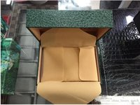 Wholesale original watch cases resale online - Luxury Watch Boxes Green With Original Ro Watch Box Papers Card Wallet Boxes Cases Luxury Watches