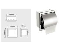 Wholesale Roll Tissue Dispenser - Wholesale- Wholesale Roll Paper Holder ,Icarekit, Recessed Stainless Steel Bathroom Toilet Roll Paper Holder Tissue Dispenser 460416