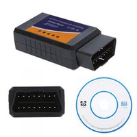 Scanner Elm327 Obd Ii Pas Cher-ELM327 WIFI / Bluetooth V1.5 OBD II Wi-Fi ELM 327 Outil de diagnostic de voiture OBD Scanner Scanner d'interface obd2 Vente en gros 100pcs / lot DHL gratuit