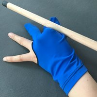 1Piece 3 Fingers Durevole Nylon Glove Cue Shooter per Snooker Accessori da biliardo Snooker da biliardo