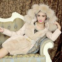 Wholesale Winter Jackets Wind Woman - Fashion Winter Warm Coat Fur Collar Jacket Upset Down Jacket Wind Coat Luxury Fashion Style Outwear