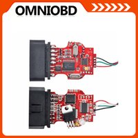 Wholesale English Stock - 10PCS lot Brand Newest Full Clip OBD2 CablOBDII-cable-V15-7 English In STOCK FreeShipping