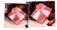 Wholesale Pink Sweet Boxes For Weddings - 2016 Hot Sale Low Price Candy Box European Creative Sweet Box Wholesale For Wedding and Festival 381