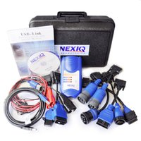 Wholesale Top Rated Auto Scan Tool - Wholesale-2014 Top-Rated Software Diesel Interface Professional Auto scan tool NEXIQ 125032 USB Link All Installers+ DHL Free shipping