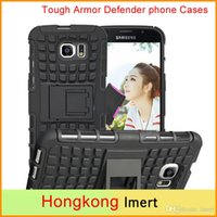 Pour Samsung Galaxy Note 2 II N7100 Slim robuste armure Defender Case Hybrid TPU + PU antichoc Shell Avec Support à Hard Cover