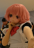 Wholesale Live Doll Silicone - 2016 New Arrival Female KIG Japanese Anime Silicone Masks Cosplay Kigurumi Lifelike Living DOLL CrossDRESSER Can Customize Hair Eyes