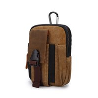 Vente chaude de haute qualité Retro Canvas Taille Packs Outdoor Sports Belt Bag Ultra-grand sport multi-fonctions Sac Portable