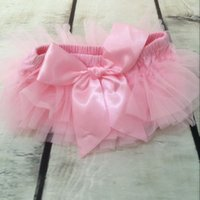 Shorts outfit mini skirt - Princess pink ruffle baby Diaper cover new pattern baby tutu bloomer ruffle newborn tutu skirt summer toddler outfit