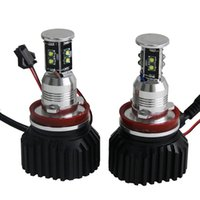 Wholesale Bmw Heat - 2PC X E92 40W per Bulb 80W One Set CREE XPE Al body Spead heat for E92 Coupe 2007 and up