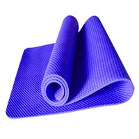 Wholesale Thick Yoga Blanket - Wholesale-2016 high density NBR yoga mat 8mm thick non-slip printing on both sides of sports and fitness mat yoga mat sport 28