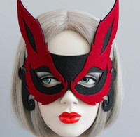 Wholesale Host Club Cosplay - Sexy Fox Half Face Adult Children Masks Masquerade Night Club Cosplay Halloween Host Banquet Party Decorations Party Masks