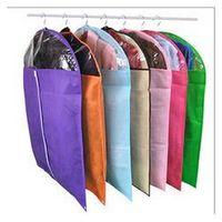 Wholesale Suit Dust Cover Bag - Free shipping Multi-colors dress dust cover Garment dust cover Suit dust Cover Dustproof Storage Protector storage bag