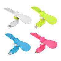 Wholesale Usb Multi Micro Mini - Portable Mini Micro USB Fan by Smartphone Cell Phone Power Mobile Phone Fan Cool Cooler For Android or I Phone Multi-Function Hand Fan
