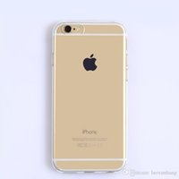 Wholesale Iphone5 Case Super - i6 6s Super Flexible Clear TPU Case For Iphone5 5se Slim Crystal Back Protect Skin Rubber Phone Cover Fundas Silicone Gel Case Wholesale