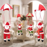 Wholesale parachute dolls for sale - Group buy Christmas Decoration for Home Snowman Ornament Parachute Christmas Doll Pendant New Year Decor Christmas Toys