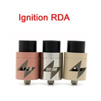 Wholesale Wholesale Ignition - Ignition RDA Atomizers Clone 5 Color Vaporizer E Cigarette 22mm Larger Air Chamber 2 POST fit 510 Mods DHL Free ATB514
