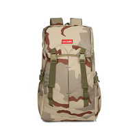 Wholesale Large Capacity Military Backpack - Men's Large Capacity Outdoor Waterproof Professional Camouflage Backpack Mountaineering Travel Bag 40L Military Camping Hiking 806