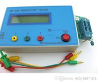 testeur de transistor esr achat en gros de-En gros Nouveau Transistor Testeur Diode Triode Capacité ESR Résistance Compteur MOS PNP NPN Livraison gratuite dmc Lots10