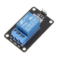 Wholesale Relay Driver - 1pc 1-Channel 5V Optocoupler Driver Relay Module High Level for Arduino