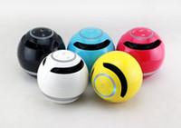 mp3 telefon amplifikatörü toptan satış-Bluetooth Mini Hoparlör Alıcı Boombox FM Radyo Taşınabilir Amplifikatör MP3 Subwoofer Cep Telefonu Için Mic Ile Hoparlör