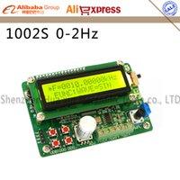 Wholesale Dds Function Signal Generator Module - Wholesale-UDB1002S series DDS Signal source module Signal generator 2MHz Frequency sweep and Communication function 60MHZ frequency meter