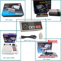 Wholesale Mini Usb Hdmi Tv - HDMI Out Retro Classic Game TV Video Handheld Game Console Entertainment System Built-in 600 500 620 Classic Games for NES mini Game