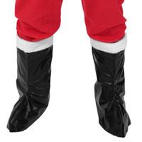 Wholesale Leather Santa Claus Boots - Garment leather boots- Santa Claus boots Christmas gift items for men