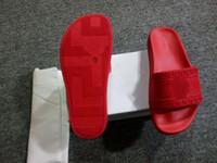 Wholesale Mens Outdoor Bags - (Dust Bags+ Box)2017 Men Designer Slippers Man Slipper Sandals Mens Medusa Scuffs male Summer outdoor Beach slide Sandals Free shipping