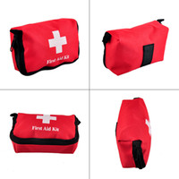 Wholesale Outdoor Medical Kits - Travel Sports Home Medical Bag Outdoor Car Emergency Survival Mini First Aid Kit Bag (empty) Wholesale 2503022