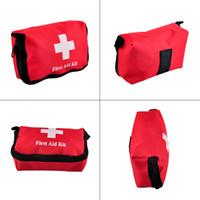 ingrosso corsi di pronto soccorso-Viaggi Sport Home Borsa medica Outdoor Car Emergenza Sopravvivenza Mini First Aid Kit Bag (vuoto) Commercio all'ingrosso 2503022