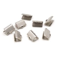 Wholesale 200Pcs Cord Ends mm Crimp Ribbon Ends Bracelet Material Accesorios Para Hacer Pulseras Jewelry Findings And Components