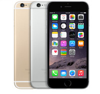 Original Unlocked Apple iPhone 6/6 plus sans empreintes digitales Téléphones cellulaires 4.7'IPS 2GB RAM 16/64 / 128GB ROM GSM WCDMA LTE iPhone6 ​​Téléphone Mobile