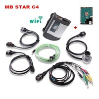 Topo MB Star C4 MB SD Connect 4 Compact 4 WIFI Com o mais recente software HDD DAS XENTRY V2016.07 Ferramenta de Diagnóstico de Autocarros de Carro MB STAR C4