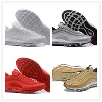Brand New Men Low Air 97 Almofada Respirável Casual Shoes Cheap Massage Running Flat Sneakers Man 97 Sports Outdoor Shoes