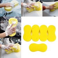 Wholesale Car Waxes - Cheapest 5pcs 8-shaped home cleaning tool Washing Cleaning Sponge for car washing sponge Car Waxing Polish No Scratches