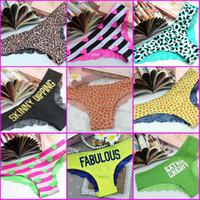 Wholesale Sexy Underwear Models Girls - PINK Detonation Hot Model The American Flag Lace Sexy Leopard Girl Underwear Cotton Panties Sexy Women Underwear Sexy Panties