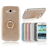 Wholesale Case Duos - Glitter Bling Soft TPU Silicone For Samsung Galaxy Grand Duos i9082 i9080 Case For Galaxy Grand Neo i9060 9082 Stand Holder Cover