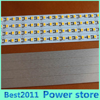 Wholesale Led For Jewelry Display - Super Bright Hard Rigid Bar light DC12V 100cm 72led SMD 5050 Aluminum Alloy PCB Led Strip light For Cabinet Jewelry Display