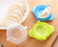 Wholesale Dough Dumpling Press - Food-Grade Plastic Pack Dumpling Maker Mold Dough Press Dumpling Pie Ravioli Mould Cooking Pastry Tools Kitchen Accessories