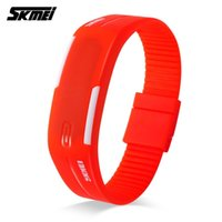 Skmei Hot Sale Sport Watches Display LED Mulheres Running Digital Watch Silicone Band Time Date Girls Ladies Relógios de pulso Relogio Feminino