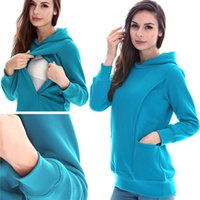 Wholesale Sweaters For Pregnant Women - Maternity clothes Maternity Sweater maternity tops Nursing top Breastfeeding Tops Maternity Hoodies nursing clothes for pregnant women