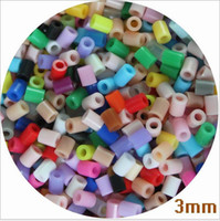 Wholesale perler beads resale online - 55 COLORS mm Hama Beads Artkal Beads Perler Beads Fuse Beads For Early Educational Toys DIY Kids Crafts Toy B138