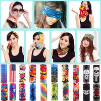 Wholesale Headband Pop - Pop Style Cycling Ski Protective Gear CS half face Mask Headwear as Neck Warm Headband Hats Caps Kerchief