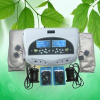 Dual Ionic Foot Spa Detox, Detox Foot Spa Machine, Ion Cleanse Detox Foot Spa avec ceinture et bracelet infrarouge