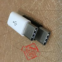 Wholesale Converter Pack - Black & White USB 3.1 Type-C Type C Data Metal Converter Adapter For Xiaomi 4C Nokia N1 Letv HUAWEI P9 Oneplus 2 Macbook With Retail Packing
