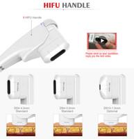 mejor máquina de elevación facial al por mayor-Máquina de belleza HIFU 2 en 1 Ultrasonido focalizado de alta intensidad Lifting facial Mejores cartuchos de transductor de máquina HIFU FU18