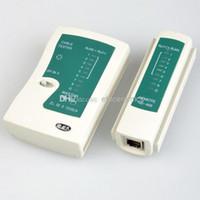 rj12 utp kablosu toptan satış-Toptan Telefon RJ45 RJ11 RJ12 CAT5 UTP Ağ / Telefon USB Lan Kablosu Uzaktan Test Test Cihazı Lots100